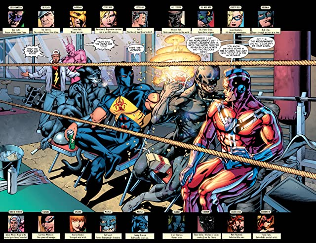 click for super-sized previews of Justice Society of America (2007-2011) #12