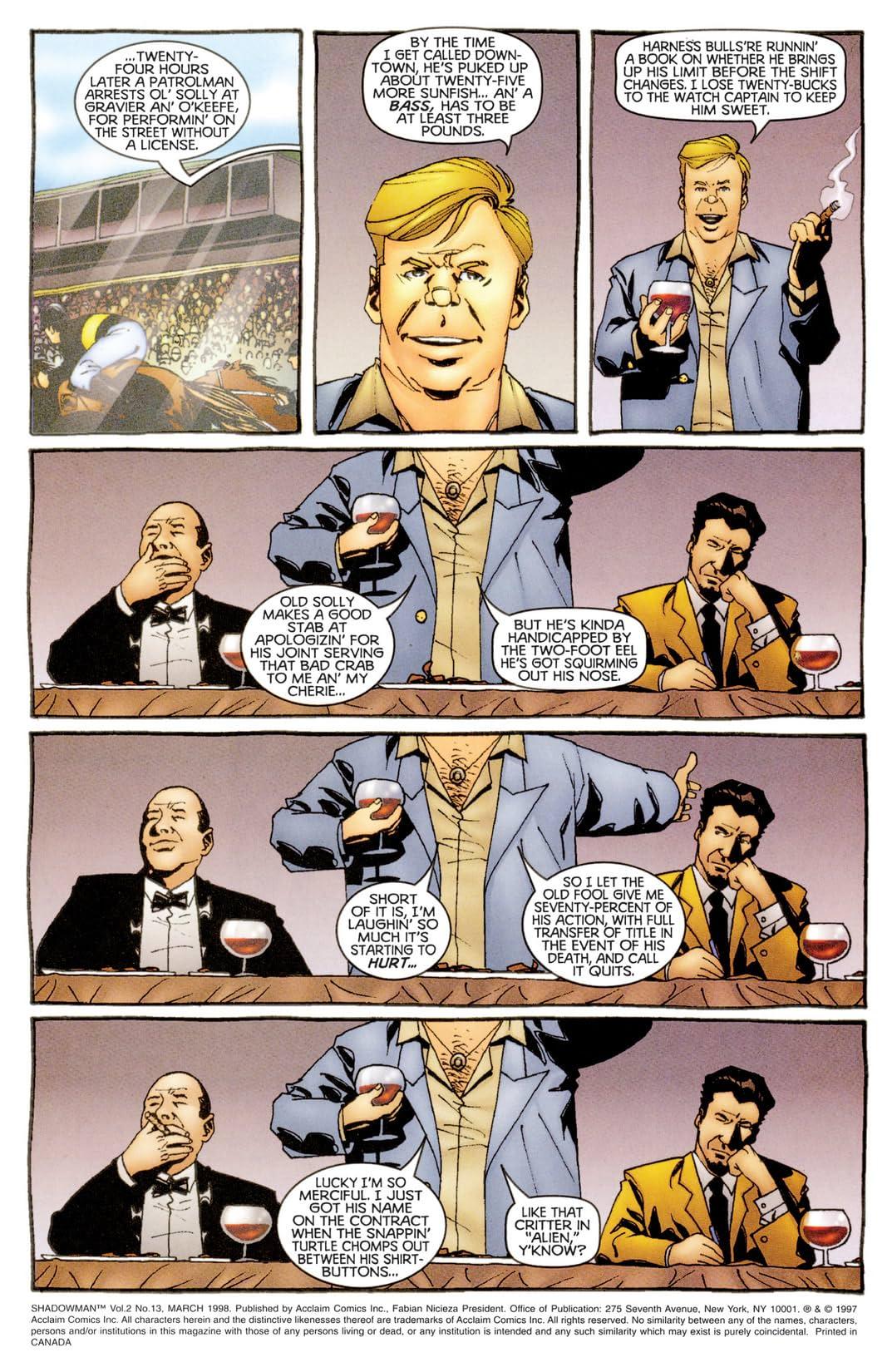 Shadowman (1997-1998) #13