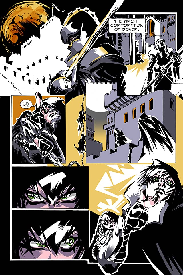 click for super-sized previews of Artful Daggers #10