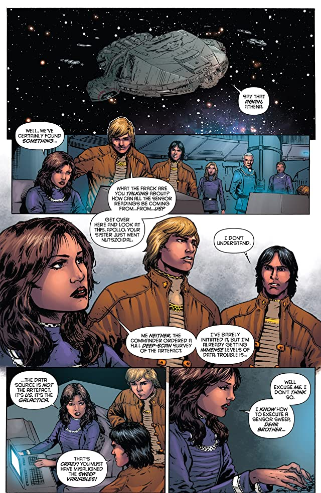 click for super-sized previews of Classic Battlestar Galactica Vol. 2 #9: Digital Exclusive Edition