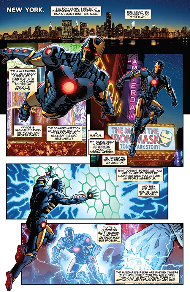 click for super-sized previews of Iron Man (2012-) #23.NOW