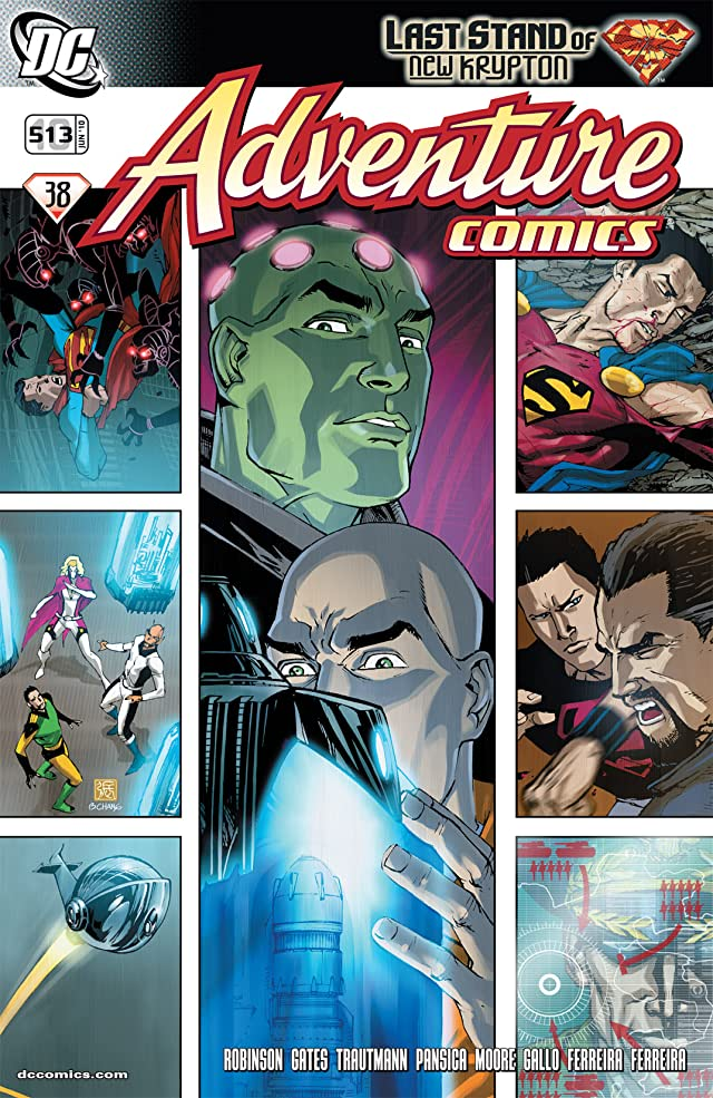 click for super-sized previews of Adventure Comics (2009-2011) #10
