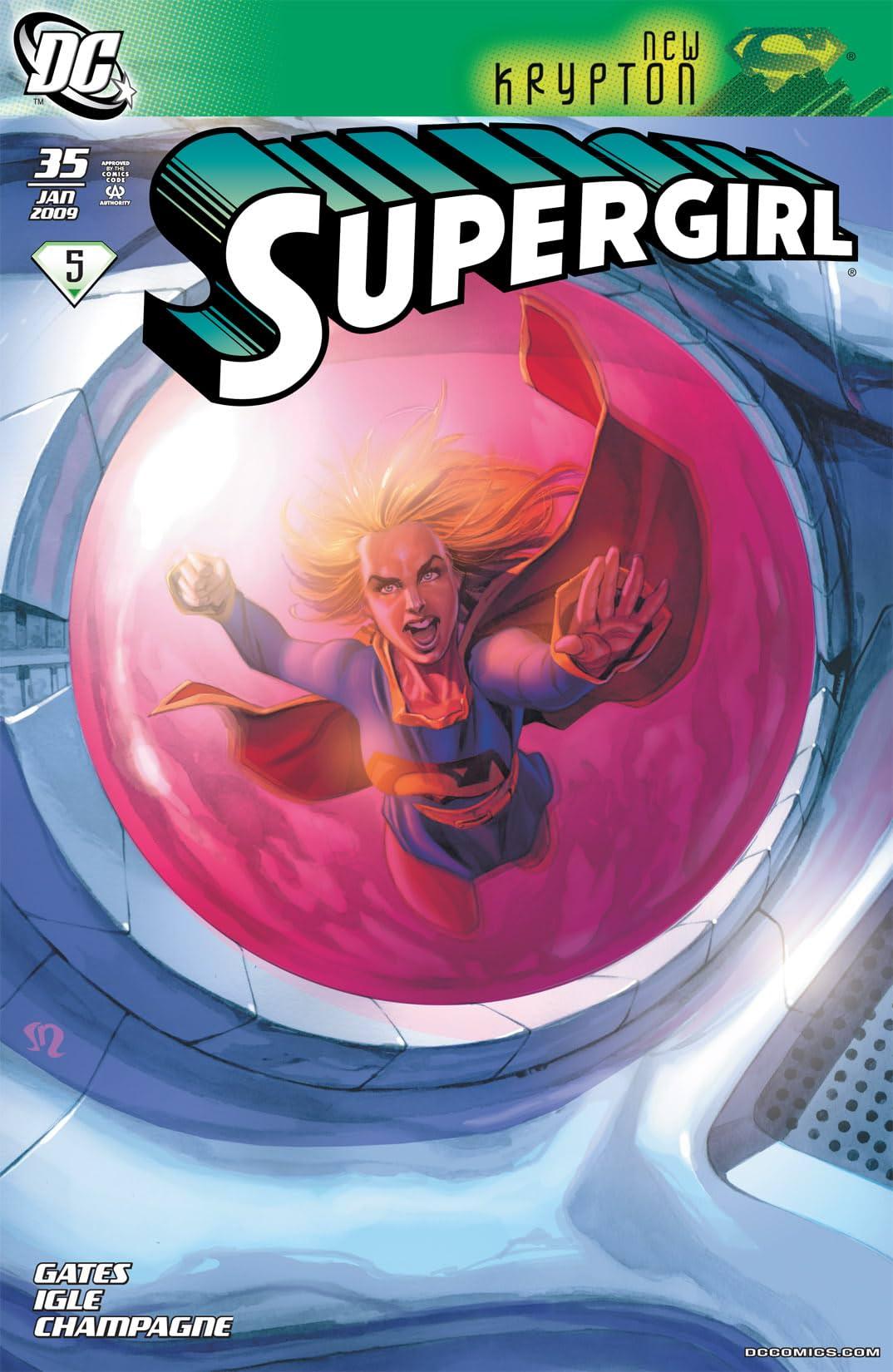 Supergirl (2005-2011) #35