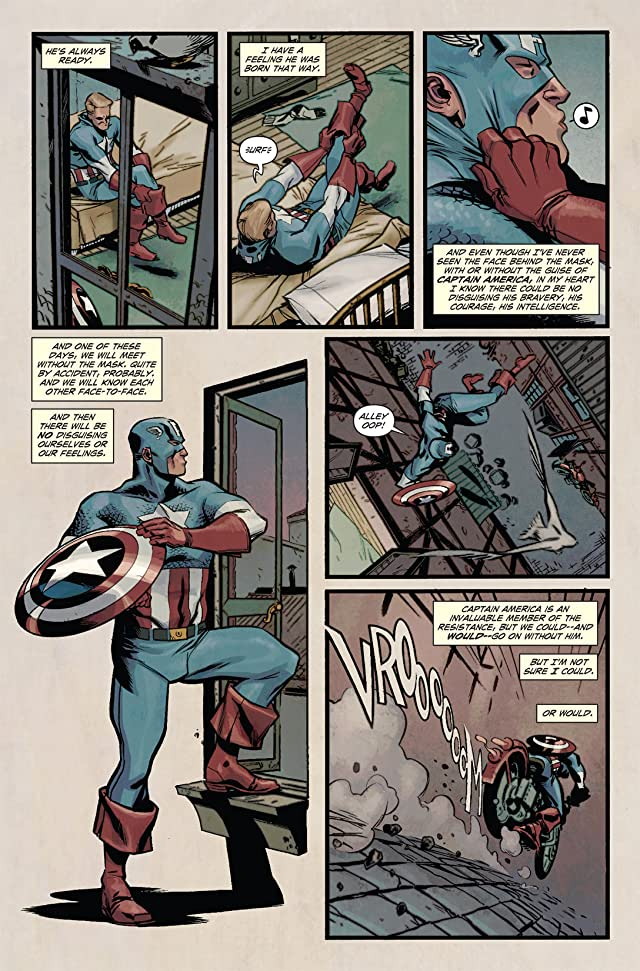 click for super-sized previews of Captain America and First Thirteen