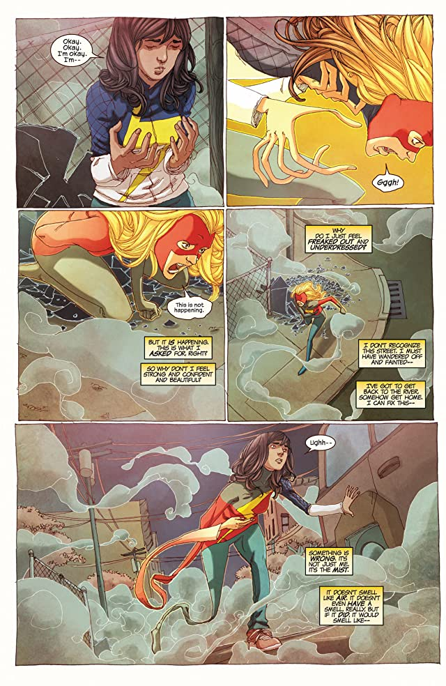 click for super-sized previews of Ms. Marvel (2014-) #2