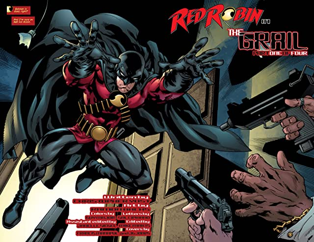 click for super-sized previews of Red Robin #1