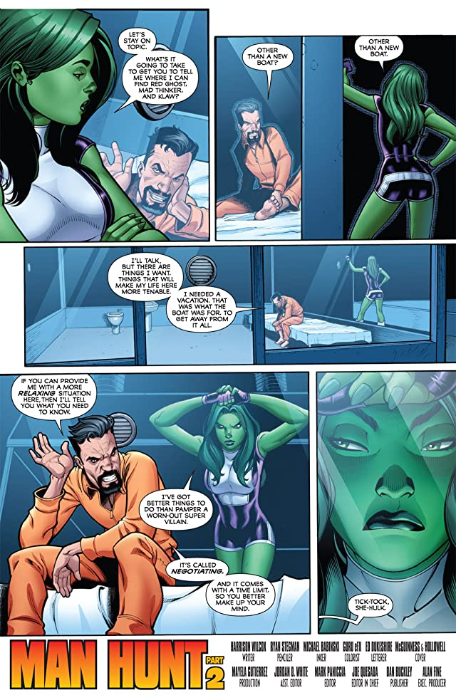 click for super-sized previews of She-Hulks (2010-2011) #2