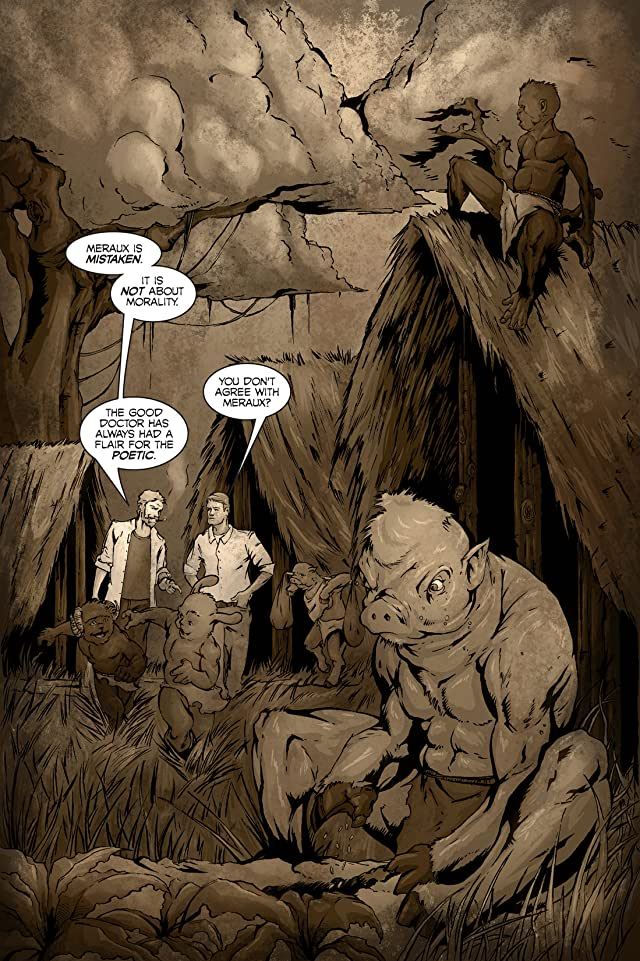 click for super-sized previews of The Army of Dr. Moreau #4