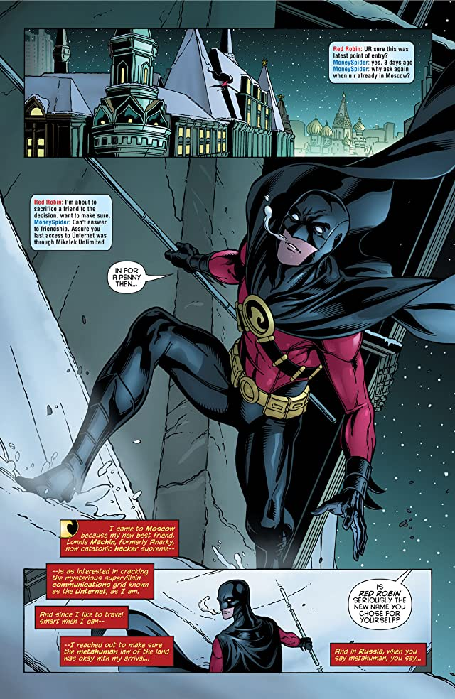 click for super-sized previews of Red Robin #18