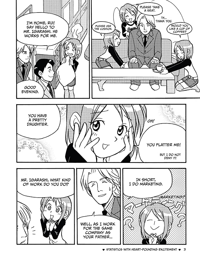 click for super-sized previews of The Manga Guide to Statistics