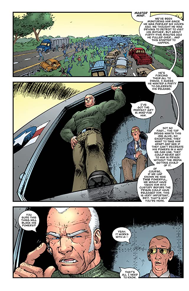 click for super-sized previews of Brit Vol. 1: Old Soldier