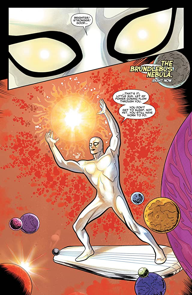 click for super-sized previews of Silver Surfer (2014-) #1