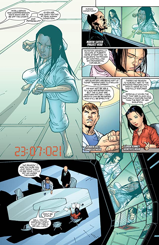 click for super-sized previews of X-23 (2005) #2