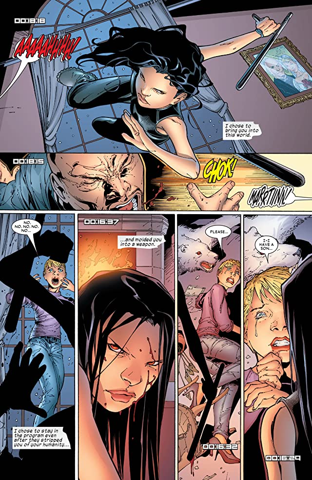 click for super-sized previews of X-23 (2005) #5