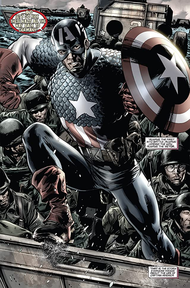 click for super-sized previews of Captain America: Reborn #1