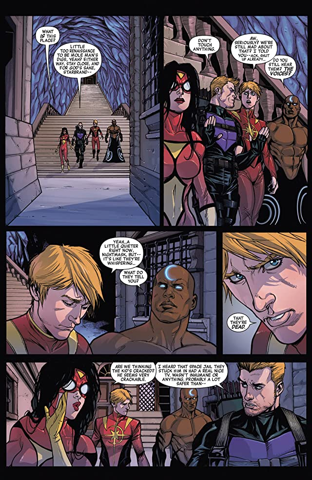 click for super-sized previews of Avengers World (2014-) #4