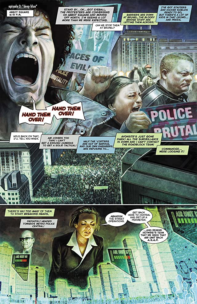 click for super-sized previews of Hotwire: Requiem for the Dead #3