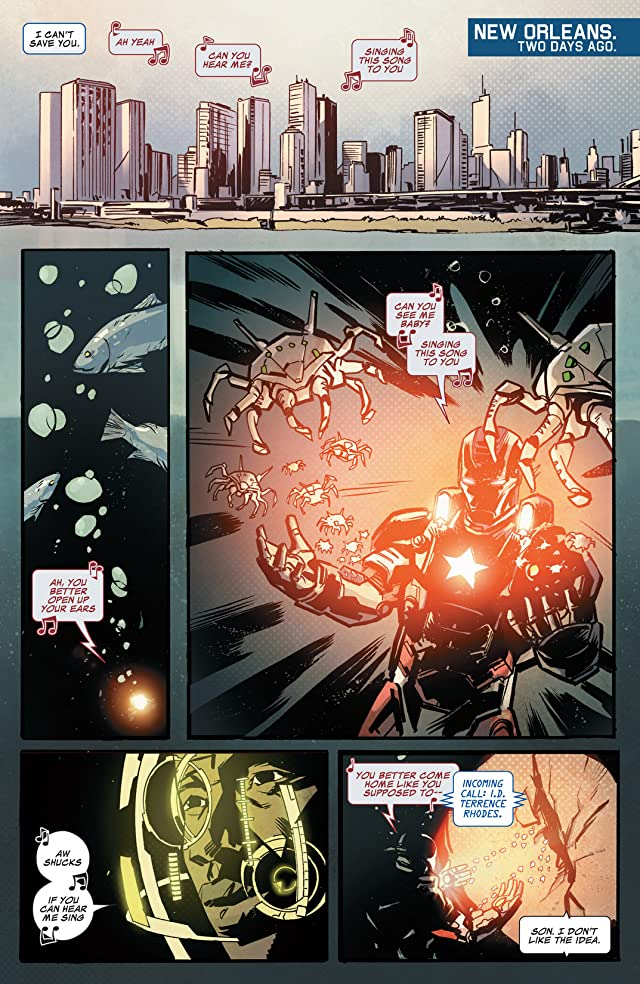click for super-sized previews of Iron Patriot (2014-) #1
