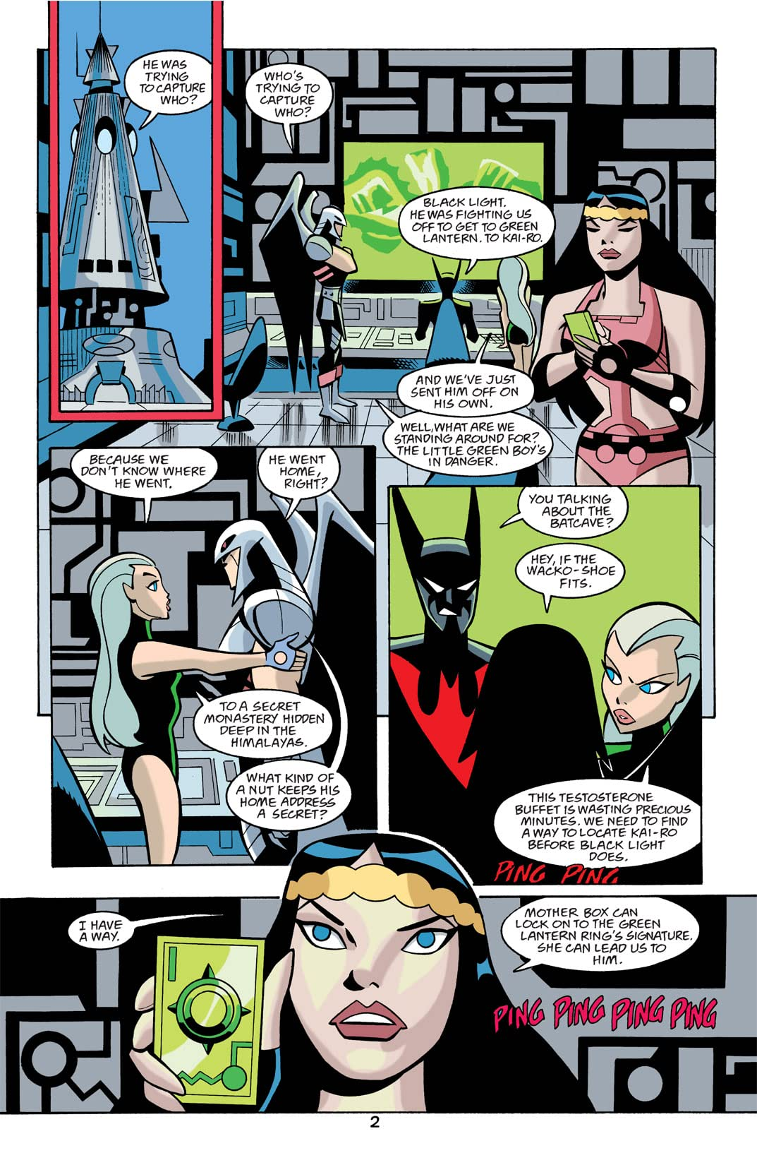 Batman Beyond (1999-2001) #22