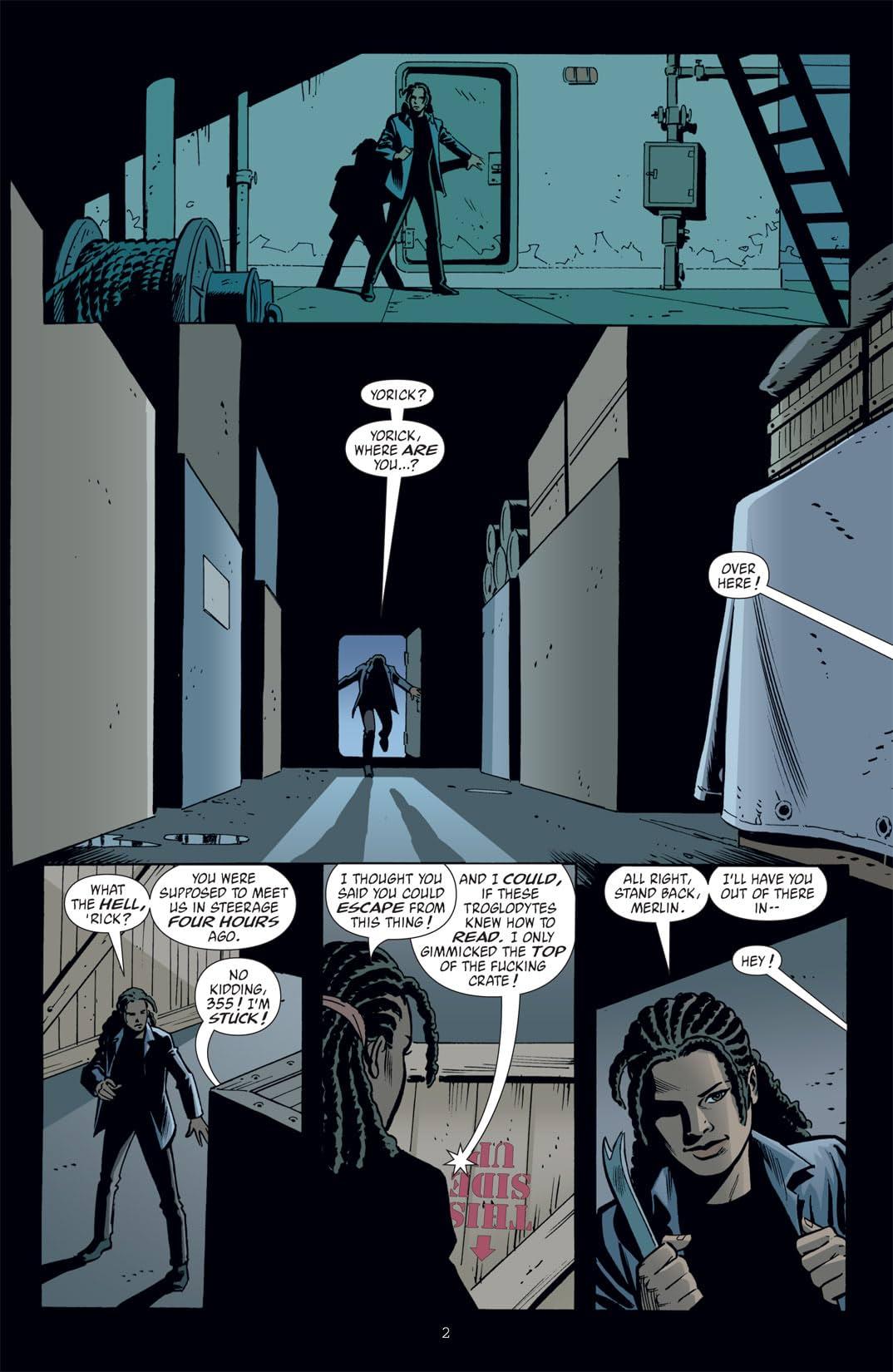 Y: The Last Man #32