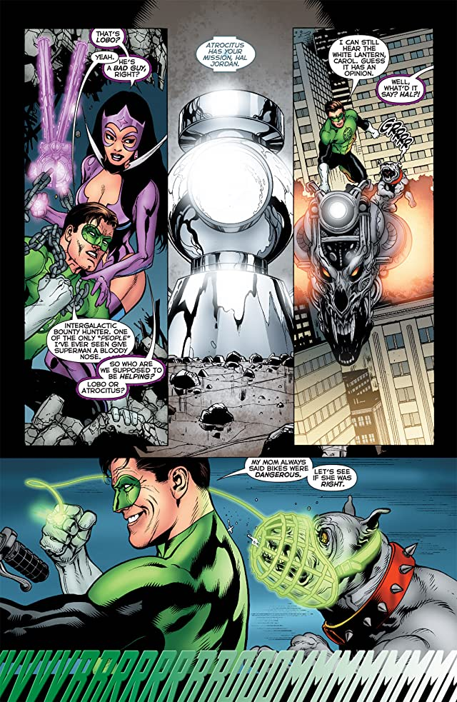 click for super-sized previews of Green Lantern (2005-2011) #55