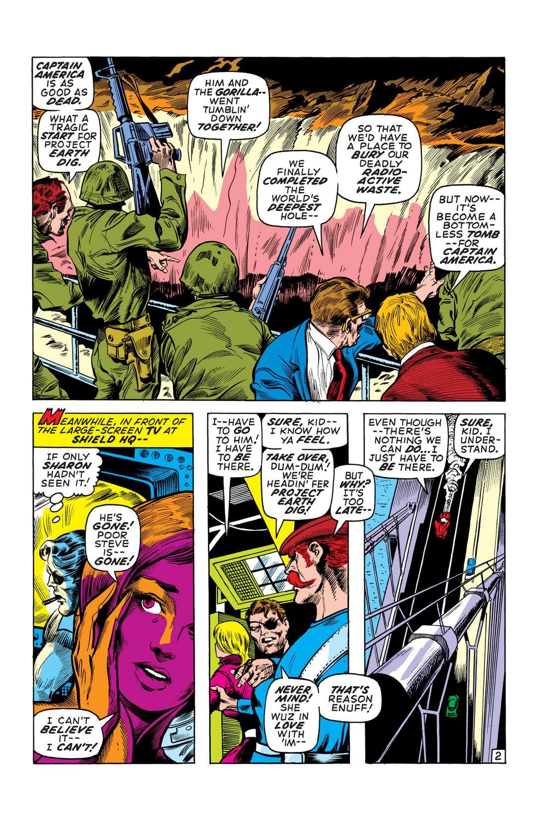 Captain America (1968-1996) #136