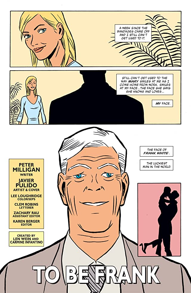 click for super-sized previews of Human Target (2003-2005) #1