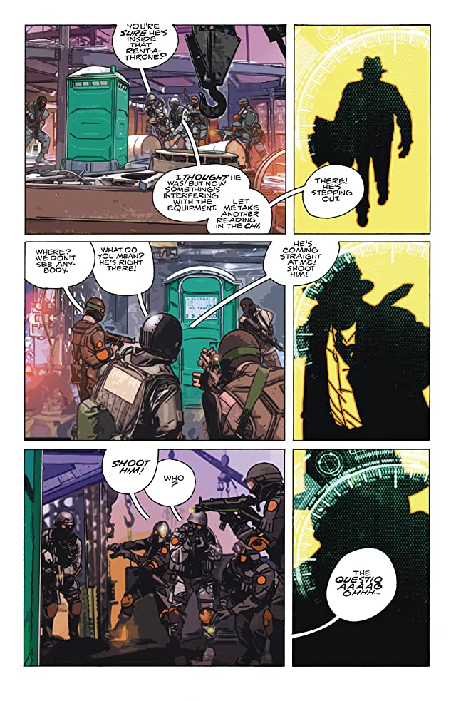 click for super-sized previews of The Question (2005) #6 (of 6)