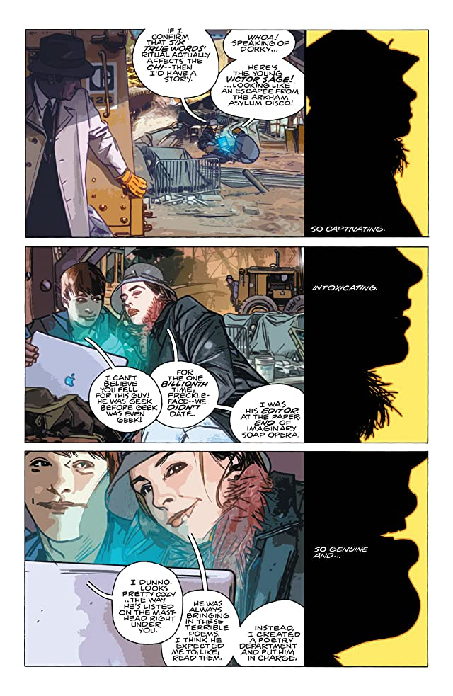 click for super-sized previews of The Question (2005) #5