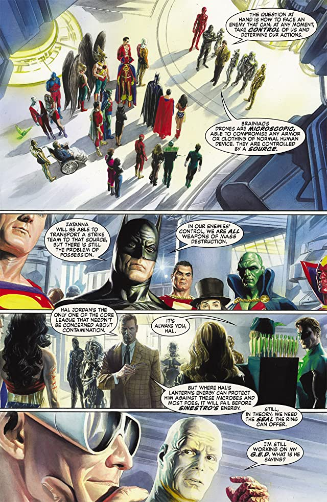 click for super-sized previews of Justice #9