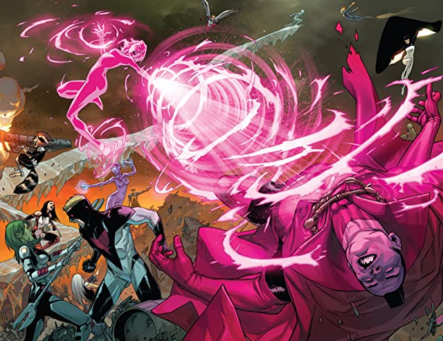 click for super-sized previews of Guardians of the Galaxy (2013-) #13