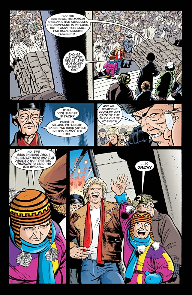 click for super-sized previews of Jack of Fables Vol. 6: The Big Book of War