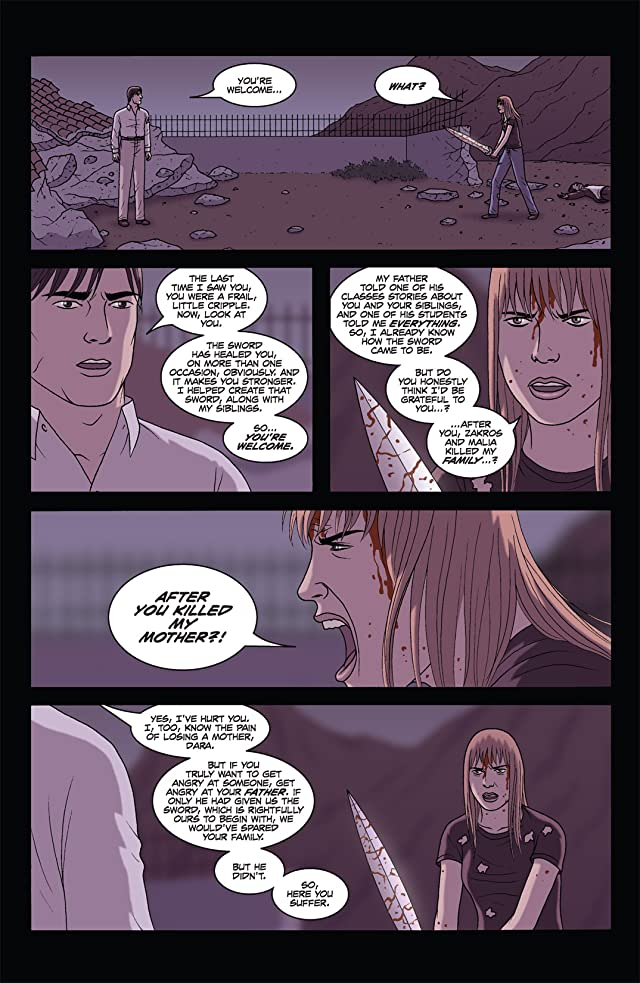 click for super-sized previews of The Sword #16