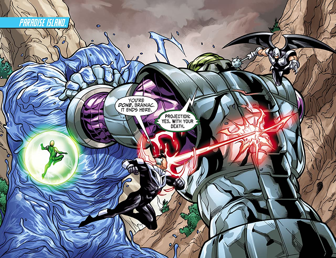 Justice League Beyond 2.0 (2013-2014) #16