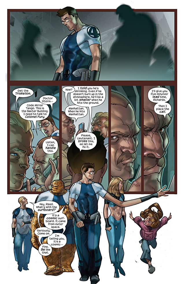 click for super-sized previews of Ultimate Fantastic Four #43