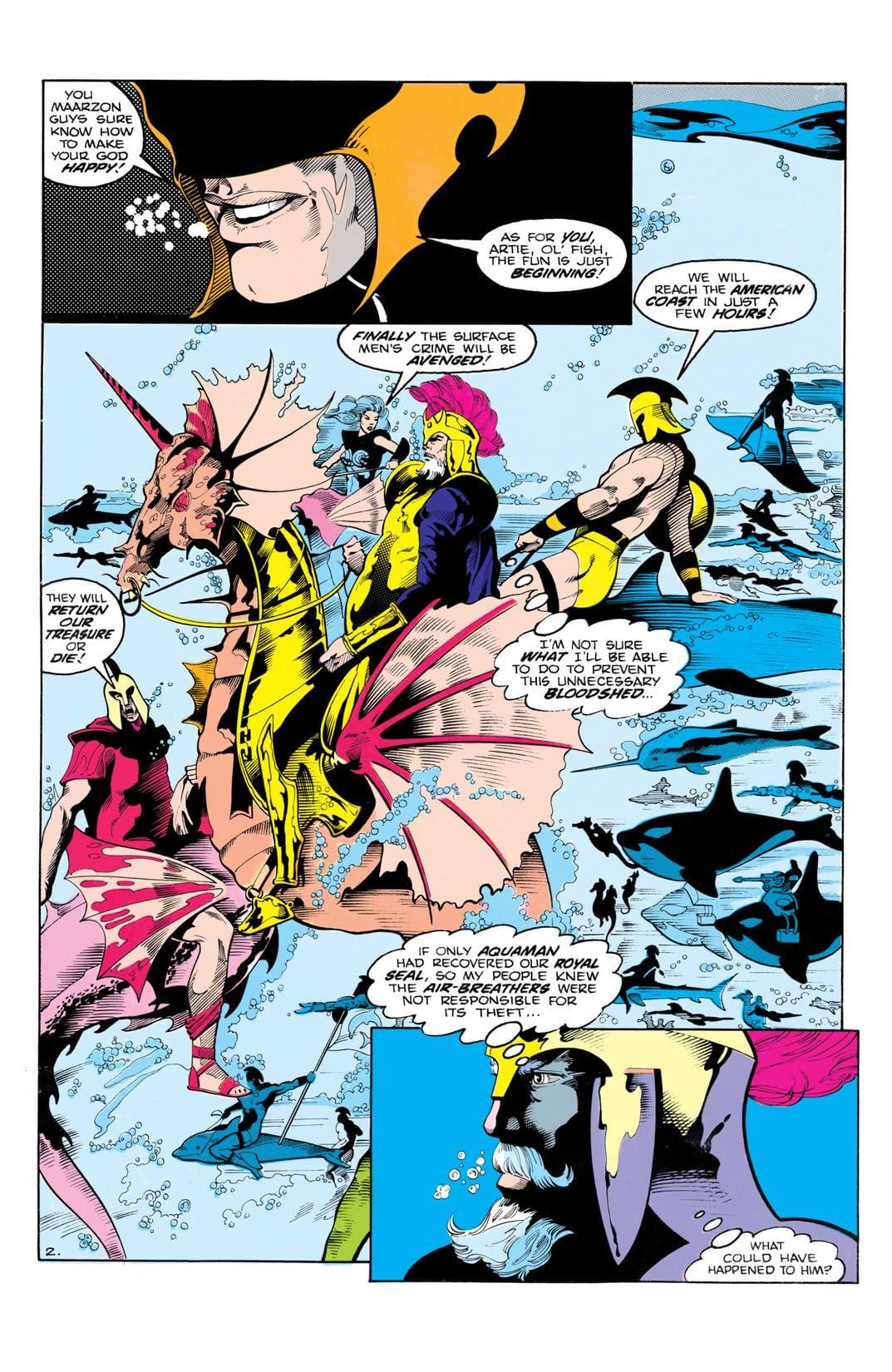 Aquaman (1986) #3 (of 4)