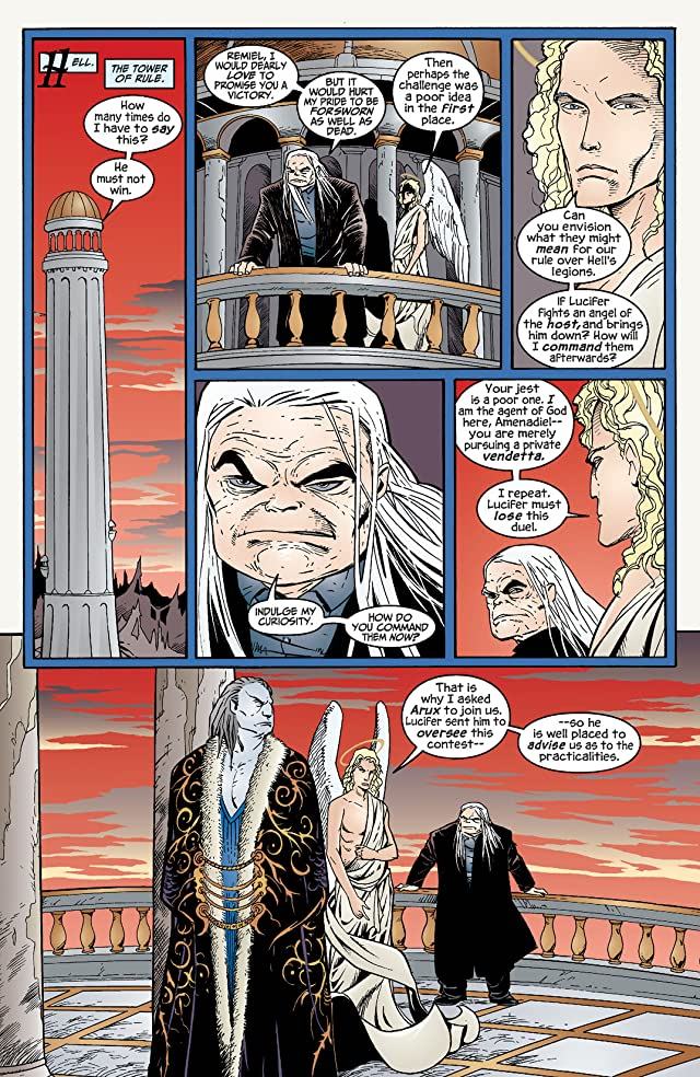 click for super-sized previews of Lucifer: Book Three