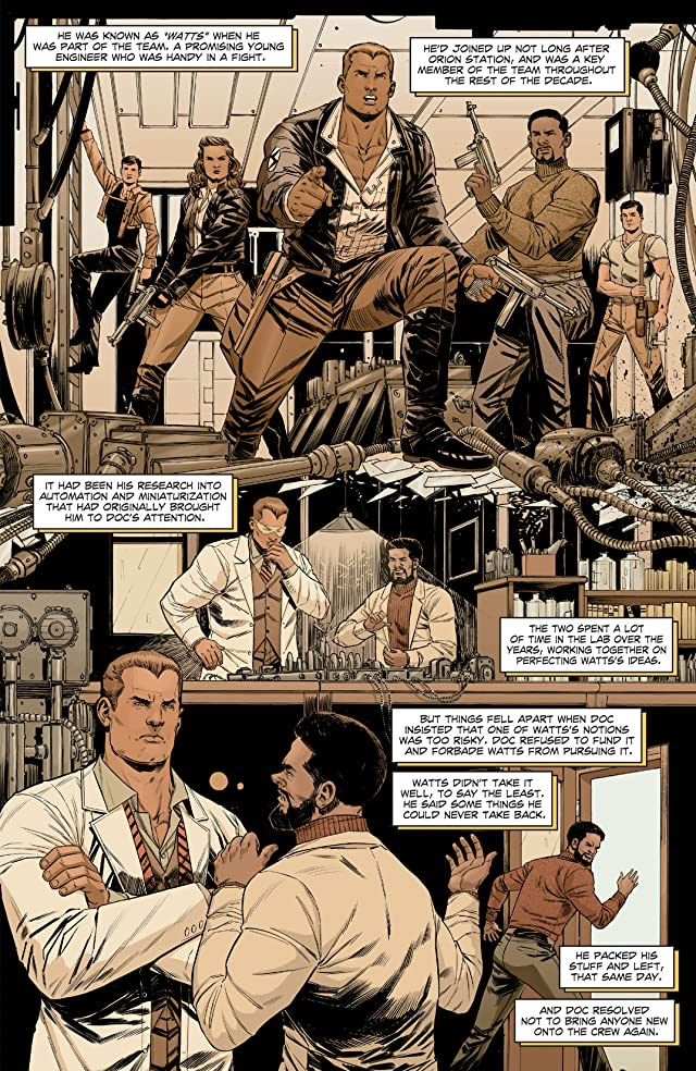 click for super-sized previews of Doc Savage #4: Digital Exclusive Edition