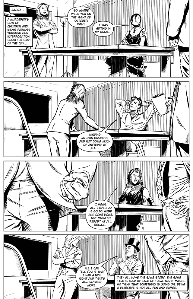 click for super-sized previews of Vincent Price Presents #3: Black & White