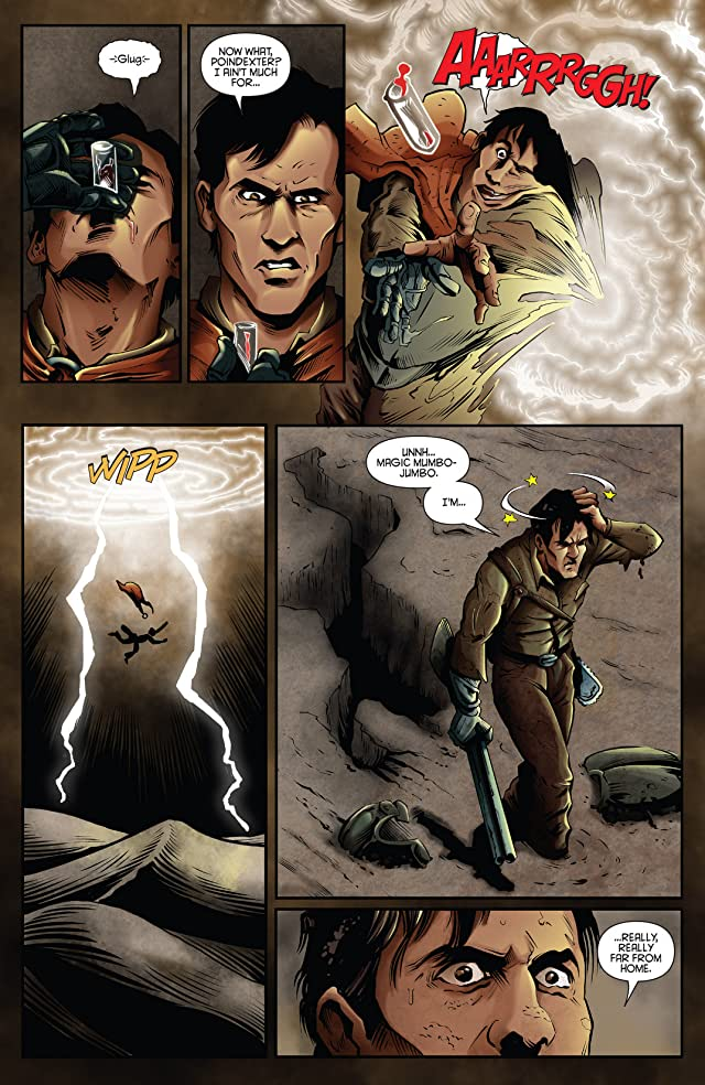 click for super-sized previews of Ash And The Army Of Darkness Annual 2014