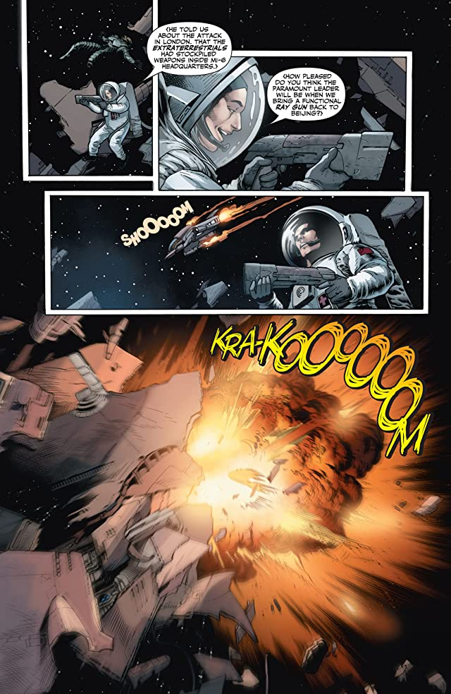 click for super-sized previews of X-O Manowar (2012- ) #23: Digital Exclusives Edition