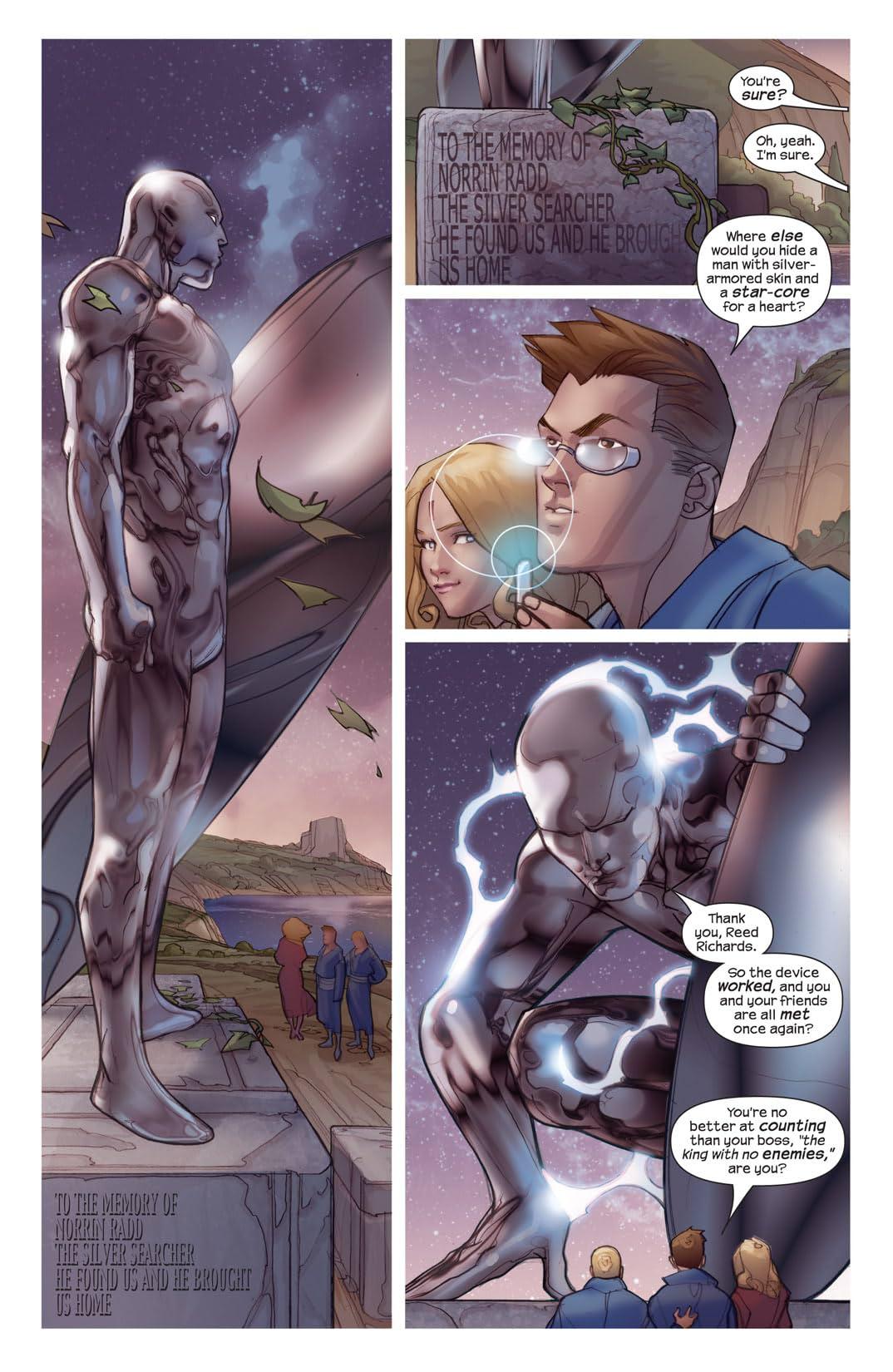 Ultimate Fantastic Four #46