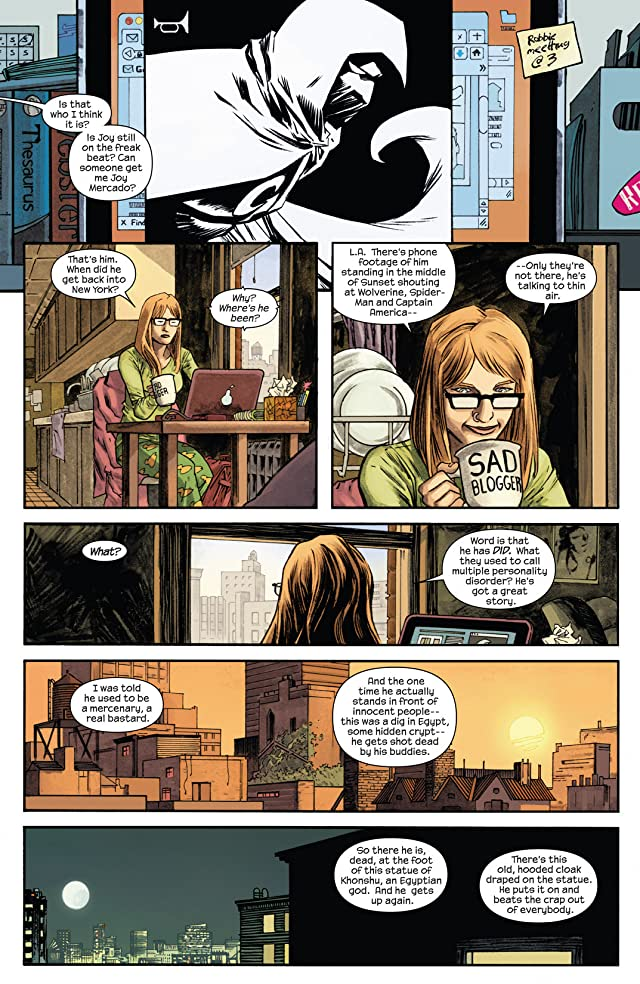 click for super-sized previews of Moon Knight (2014-) #1