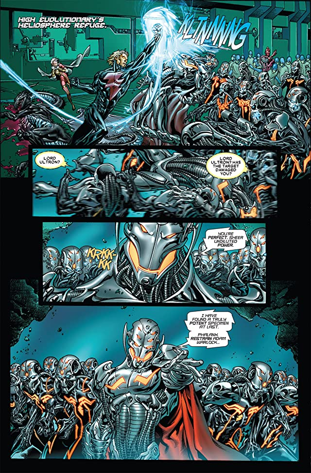 click for super-sized previews of Annihilation: Conquest #3 (of 6)