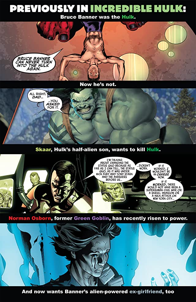 click for super-sized previews of Dark Reign: The List: Hulk