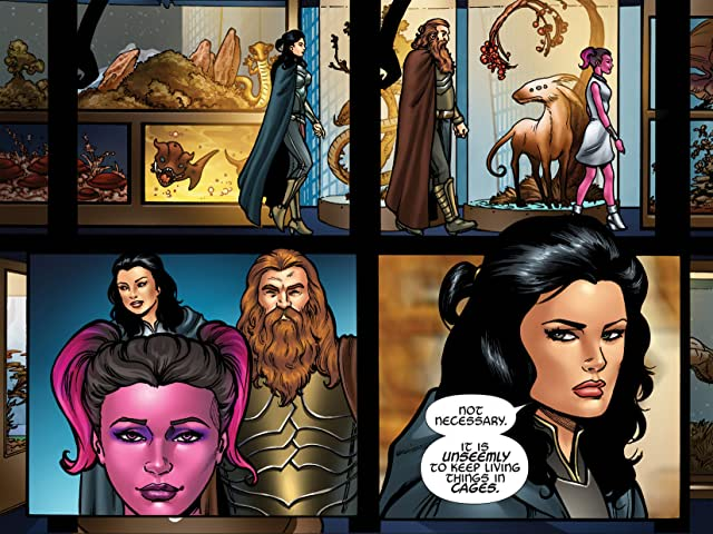 click for super-sized previews of Marvel's Guardians Of The Galaxy Prequel Infinite Comic