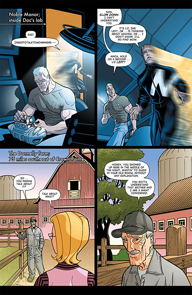 click for super-sized previews of Noble Causes #6