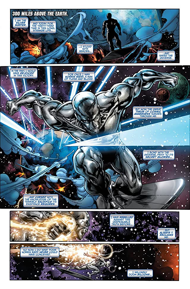 click for super-sized previews of Silver Surfer (2011) #1