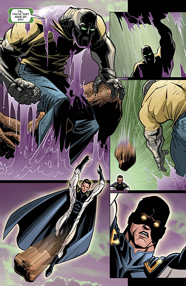 click for super-sized previews of Noble Causes #8