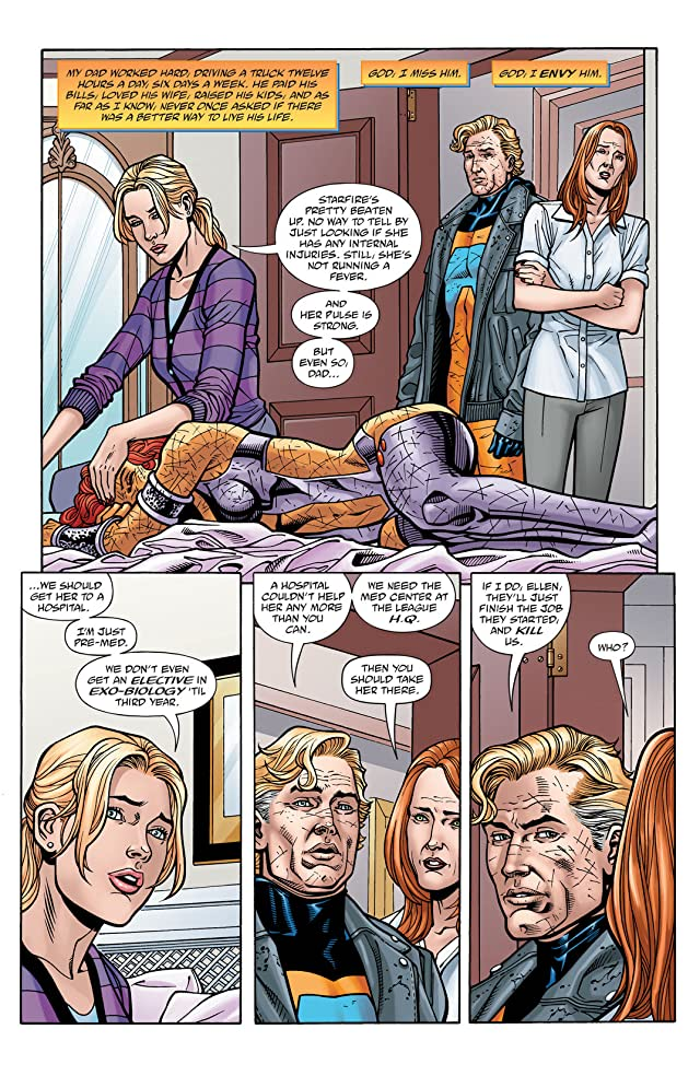 click for super-sized previews of Last Days of Animal Man #5
